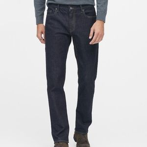 NWT Banana Republic Men's Straight Jeans, 40W, 32L